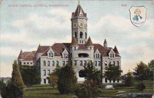 Washington Olympia State Capitol 1911