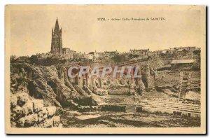 Old Postcard Arenes Gallo Roman Saintes
