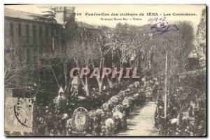 Old Postcard Funerals of victims of Jena Crowns