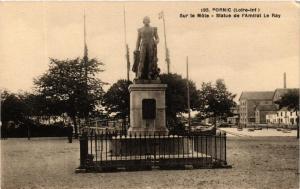 CPA PORNIC Sur le Mole - Statue de l'Amiral le Ray (610710)