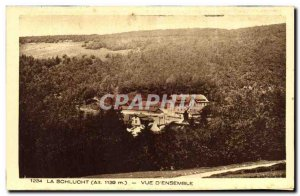 Old Postcard La Schlucht View D Together