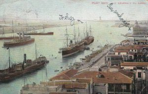 PORT SAID , Egypt , 1907 ; Canal