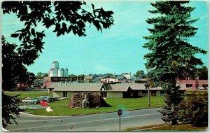 Starbuck, Minnesota Postcard Minnewaska Home for Senior Citizens 1967 Cancel