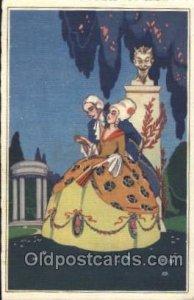 Sofia Chiostri ? (Fofi) (Italy) Artist Signed Postcard Postcards 1928
