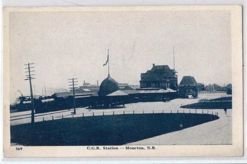 C.G.R. Station, Moncton NB