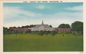 Virginia Winchester Handley High School