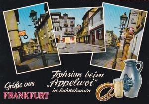 Germany Gruesse Aus Frankfurt Multi View