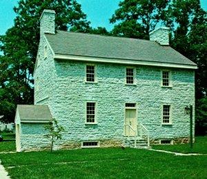 Shakertown Farm Deacon's Shop Pleasant Hill Kentucky KY UNP Vtg Chrome Postcard