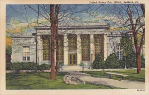 Exterior,  United States Post Office,  Bedford,  Pennsylvania,  30-40s