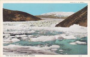 Alaska Taku Glacier On Taku Inlet Curteich