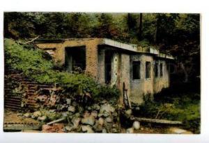 133122 FRANCE ARGONNE Abris du Kronprinz dans le Bois Vintage