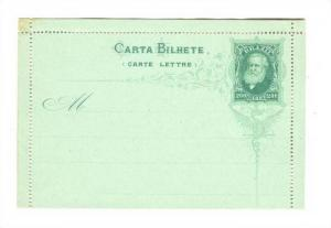 Carta Bilhete (Carte Lettre), Brazil, 1880s