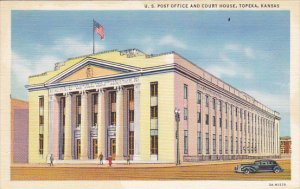 Post Office and Court House Topeka Kansas Curteich