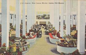 Interior, New Juarez Market, Juarez, Old Mexico, 1930-1940s