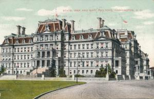 State, War, and Navy Building - Washington, DC - pm 1909 - DB