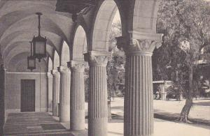 Corridor Of Post Office Riverside California Albertype
