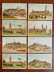 8 Postcards Louisiana Purchase Exposition St. Louis Worlds Fair Missouri~133779