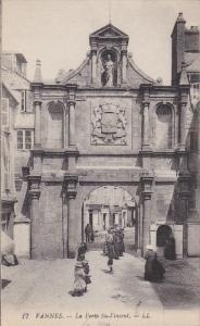 VANNES, Morbihan, France, 1900-1910's; La Porte St. Vincent