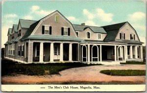 Vintage Magnolia, Massachusetts Postcard THE MEN'S CLUB HOUSE c1910s Unused