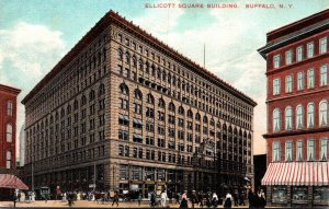 New York Buffalo Ellicott Square Building