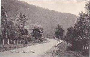 Connecticut Canaan River Road Albertype