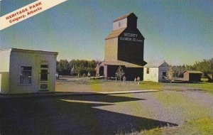 Canada Alberta Calgary Heritage Park Grain Elevator and Law Office