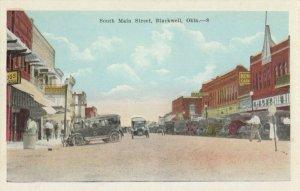 BLACKWELL , Oklahoma , 1900-10s ; South Main Street
