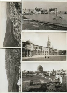 Rare Set Palestina RPPC With Original Packaging Booklet 10 Postcards BS.02