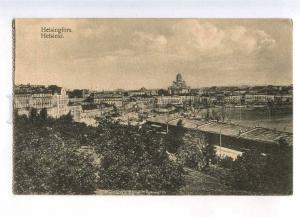 232971 FINLAND HELSINKI quay view Vintage postcard