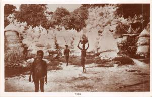 br104350 pero  africa  real photo nigeria types folklore