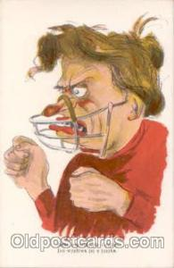 Anti Woman Postcard Post Card
