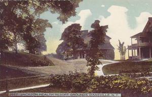 Jackson Health Resort Grounds, Dansville, New York, 1900-1910s