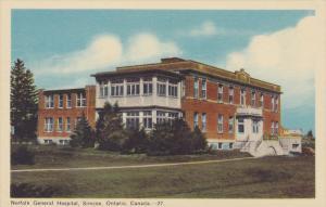 Norfolk General Hospital, Simcoe, Ontario, Canada, 20-30s