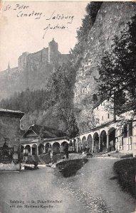 St Peter Friedhof mit der Maximus Kapelle Salzburg Austria 1937