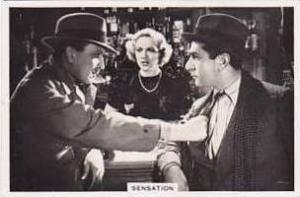 Jackson Vintage Cigarette Card Shots From The Films 1937 No 7 Sensation