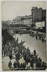 1909 President Taft Inaugural Parade Wash DC to Highland Maryland Postcard N9