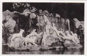 RP, Actaean Statue In Royal Gardens, Caserta (Campania), Italy, 1920-1940s