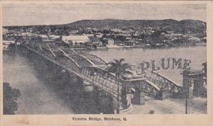 Australia Brisbane Victoria Bridge