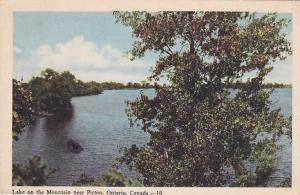 Lake on the Mountain Near Picton ON, Ontario, Canada WB