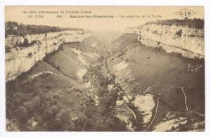 Vue Generale De La Vallee, Baume-les-Messieurs, Jura, France, 1900-10s