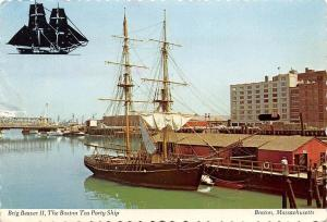 Mass. Boston, Brig Beaver II, The Boston Tea Party Ship