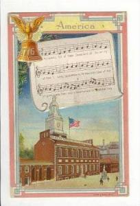 Lyrics of  America  & Court House & Monument 1910