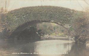 RP: LAKE MORAVIA , New York , 1910 ; Bridge
