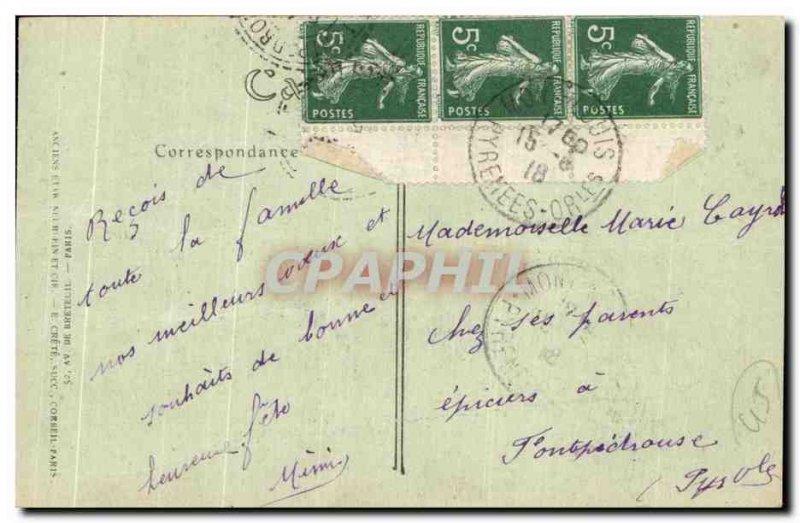 Postcard Old Orleans Jeanne d & # 39arc