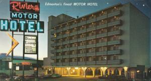 EDMONTON , Alberta , Canada , 60-80s ; Riviera Motor Hotel