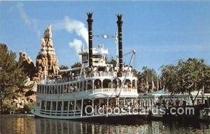 Gatherin' Steam, Frontierland, Mark Twain Disneyland, Anaheim, CA, USA Unused