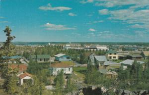 YELLOWKNIFE, Northwest Territories, Canada, 1940-1960´s; Looking North Towar...