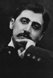 Marcel Proust Swanns Way In Love Book Author Stunning Portrait Postcard