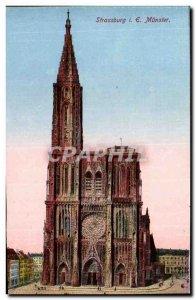Strasbourg - Strassburg - Muenster - Old Postcard