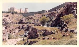 Spain Old Vintage Antique Post Card Restored Fort Toledo Non Postcard Backing